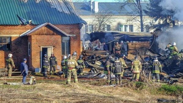 Mueren 38 personas por incendio en hospital psiquiátrico en Moscú (RiaNovosti)