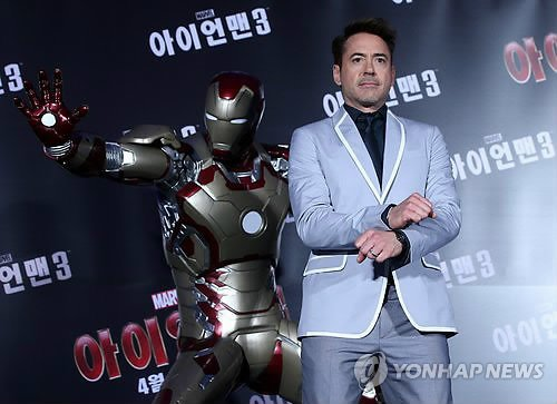 Iron Man llega a Corea del Sur en medio de amenazas de Guerra