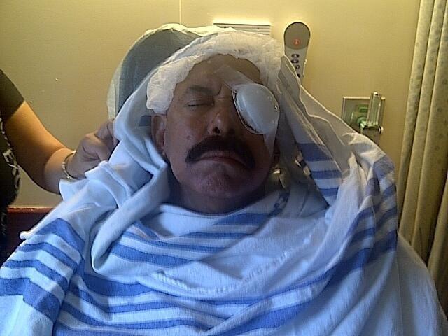 Óscar De León pierde la visión en un ojo por accidente