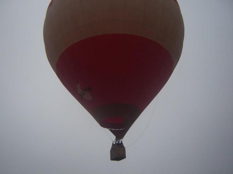 Este es el globo aerostático que cayó en el mar y pasajeros no tenían salvavidas