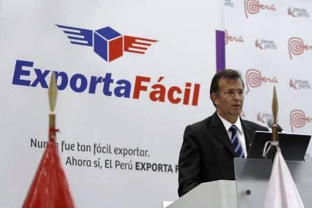 Luis Torres, director de Exportaciones de Promperú, destacó al sistema Exporta Fácil, como una gran herramientas para envíos al exterior.