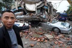 Suman 160 los muertos por terremoto en China (imagen Internet)