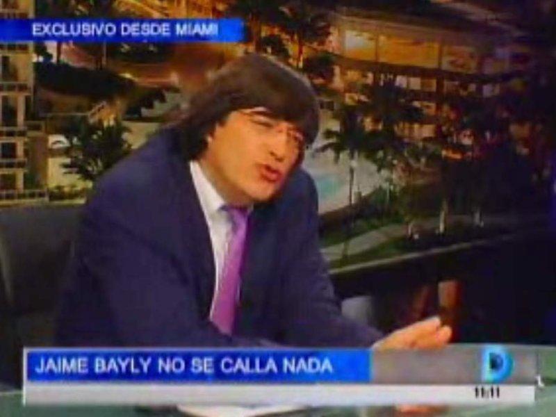 """Jaime Bayly: """"Nadine sería buena candidata pero no votaría por ella"""""""