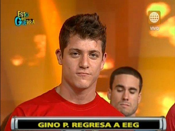 """""""Esto es Guerra"""": Gino Pesaressi vuelve al programa pese a accidente vehicular"""