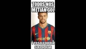 Los 'memes' tras el Autogol de Gerard Pique y la derrota del Barcelona