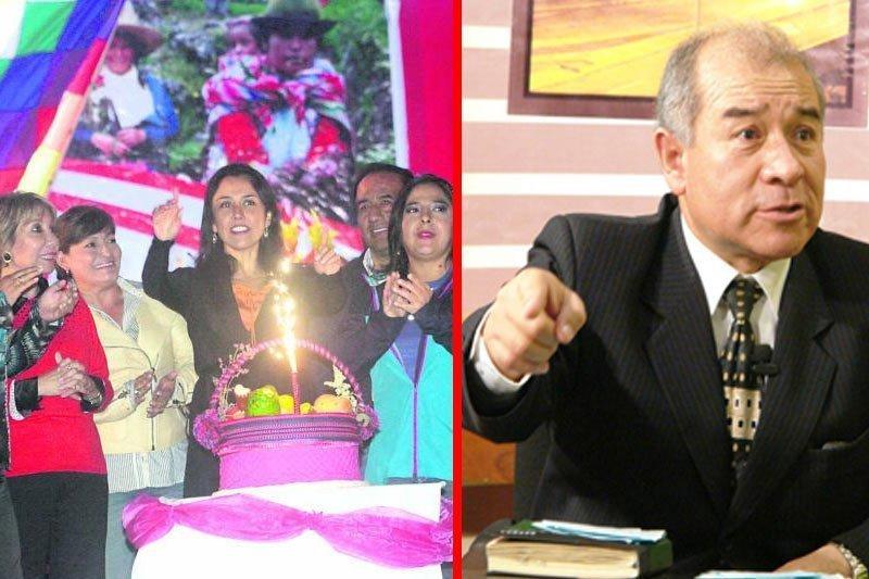 Fiscalización apunta a Jara y Laos por cumpleaños de Nadine Heredia