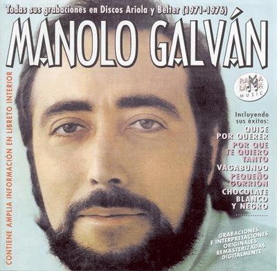 Cantante Manolo Galván falleció hoy a los 66 años
