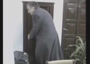 """Néstor Kirchner ante caja fuerte con dinero: """"Cuando veo estas cajas..."""""""