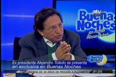 """Toledo: """"Mi error fue no persuadir a mi suegra para que no invierta en el Perú"""""""