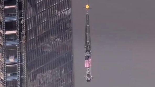 El nuevo World Trade Center ya es el edificio mas alto de Occidente
