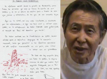 """Fujimori tras negación del indulto: """"Tengo una vida limitada y acechada por enfermedades"""""""