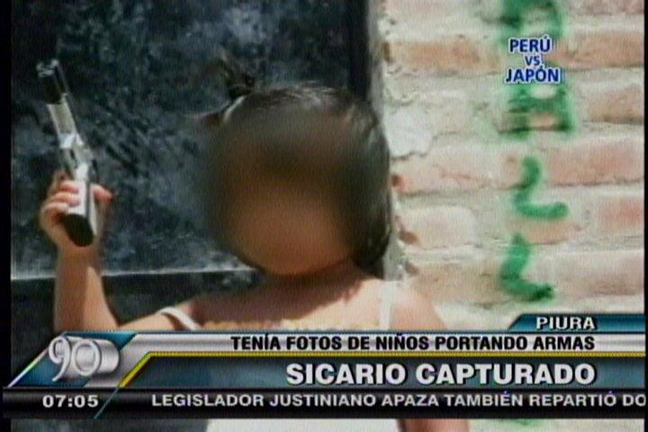 Encuentran fotos de niños con armas en guarida de narcotraficante