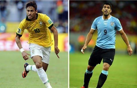 En Vivo: Brasil vs Uruguay por la Copa Confederaciones
