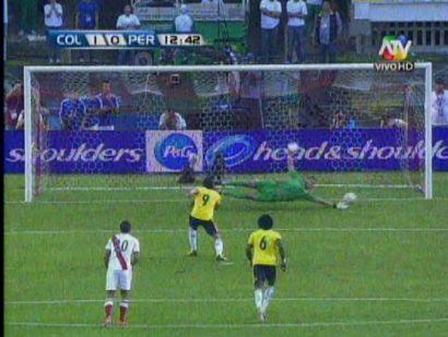 (Video) Así fue el gol de Radamel Falcao contra Perú