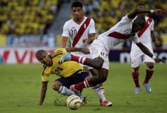 Perú cayó 2-0 ante Colombia (Video TuTeve y foto: El Bocón)