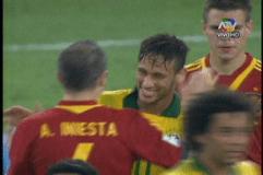 Brasil golea a España 3-0 y es tricampeón de la Copa Confederaciones