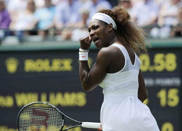 Serena Williams imparable en Wimbledon 2013.