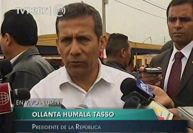 Humala ve soberbia en críticos y dice que Jiménez es idóneo para diálogo con oposición