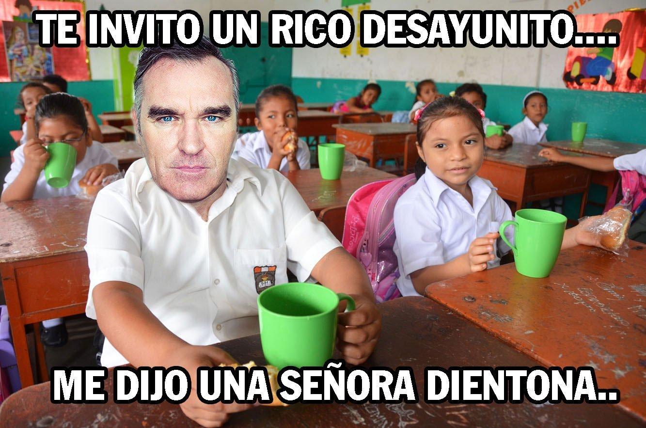 FOTOS: Aparecen hilarantes memes sobre intoxicación de Morrissey