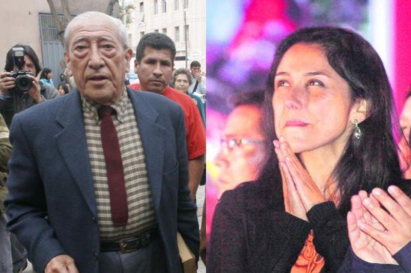 Nadine Heredia apenada por declaraciones de don Isaac Humala (Video)