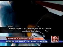 """Identifican y sancionan a policías coimeros del """"cariñito"""" (Video)"""