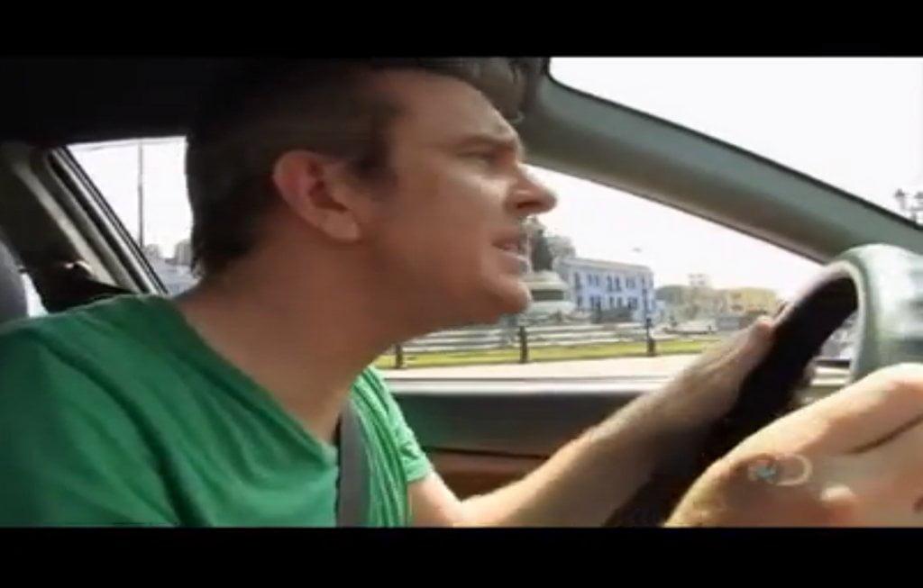 Discovery presenta el vía crucis de conducir un auto en el Perú (Video)