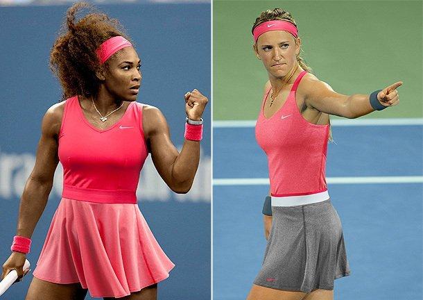 Serena Williams y Azarenka favoritas para jugar nuevamente la final del Abierto de Estados Unidos.