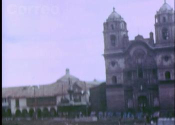 Video inédito de 1945: Las plazas de armas de Cusco, Ayacucho y Arequipa