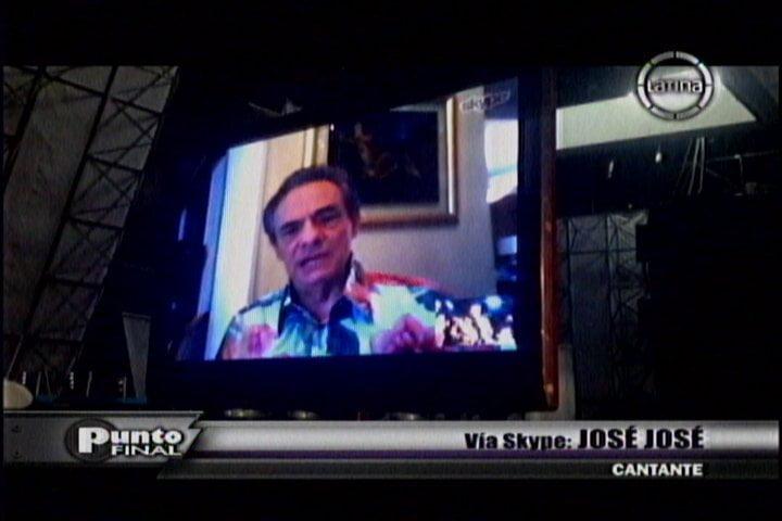 (Frecuencia Latina) Yo Soy: José José habla con su imitador Carlos Burga y saluda al Perú