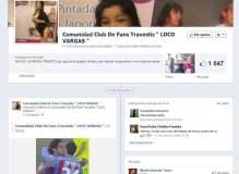 """El """"loco"""" Vargas posa con travesti """"Deborita"""" y tiene club de fans"""
