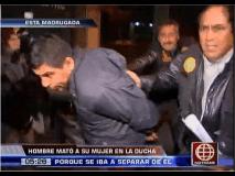 (América Noticias) Mató a su esposa a golpes porque lo iba a dejar