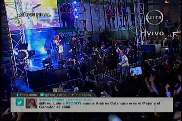 #FinalYoSoy: Andrés Calamaro, Francisco Chávez, es el absoluto ganador