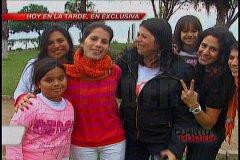 Eva Bracamonte dio un paseo por malecón y recibió saludo de ciudadanos