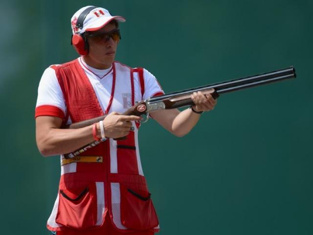 .Nicolás Pacheco puso nuevamente en alto el nombre del Perú, al obtener el campeonato mundial de Escopeta en Fosa Olímpica.