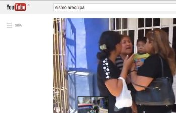 Pánico y temor: Suben a Youtube videos de fuerte sismo (Video)