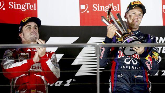 Sebastian Vettel nuevamente ganó en la Fórmula 1 y todo parece indicar que obtendrá su cuarto título mundial.