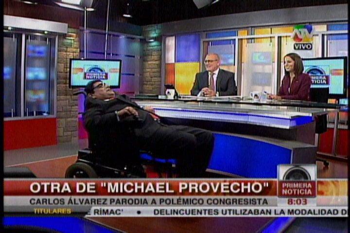 """(VIDEO) Michael """"Provecho"""" pasará factura por 120 días de suspensión en Ética"""