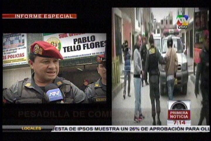 (Primera Noticia) Mafia de colombianos extorsiona a comerciantes y lava dinero del narcotráfico