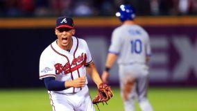 Los Bravos de Atlanta fueron efectivos capitalizando sus oportunidades para derrotar a los Dodgers.