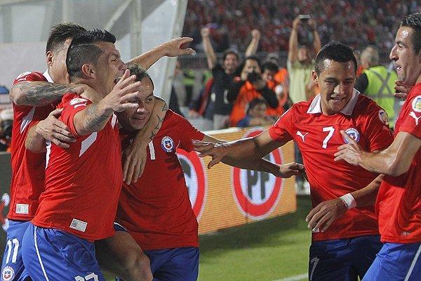 Chile consolidó hoy una merecida clasificación a Brasil 2014.