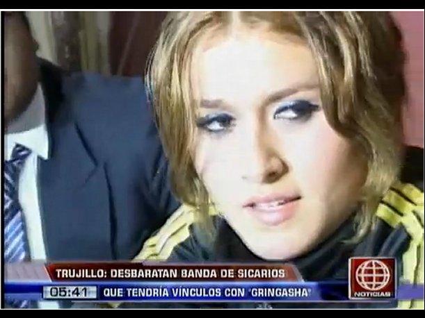 'Gringasha' Yasmy Marquina huye tras intervención a delincuentes en Trujillo