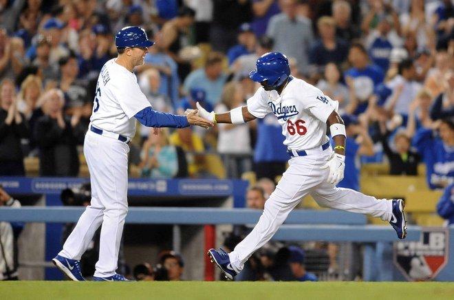 Gran labor ofensiva de la novena de Los Dodgers para  colocarse a un partido de la Serie de Campeonato.