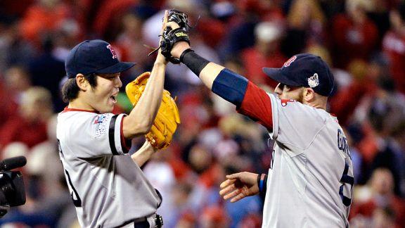 La novena de los Medias Rojas de Boston son favoritos para campeonar en las Grandes Ligas 2013.