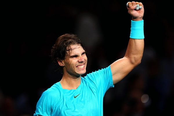 Rafael Nadal  se esforzó para derrotar al polaco Janowicz.