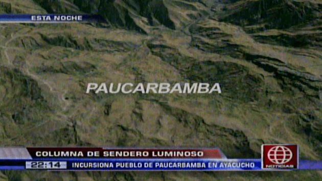 Mininter niega asalto de Sendero Luminoso a Banco de la Nación