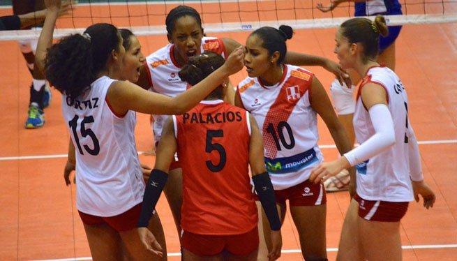 La selección puede llegar al mundial de vóley Italia 2014 si derrota a Colombia y Argentina.