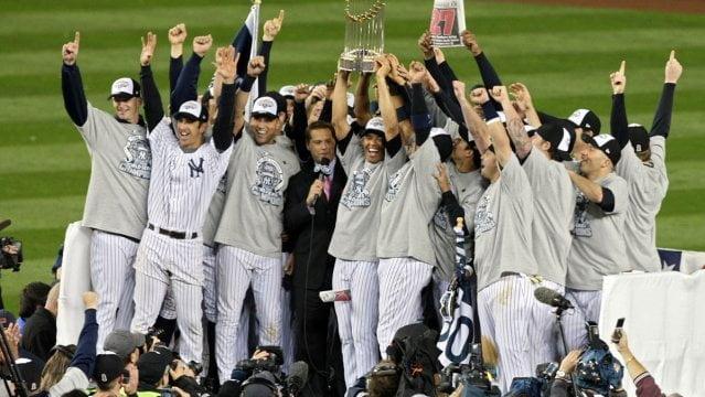 Los máximos campeones mundiales de Beisbol – los Yankees de New York – consiguieron su última Serie Mundial en el año 2009.