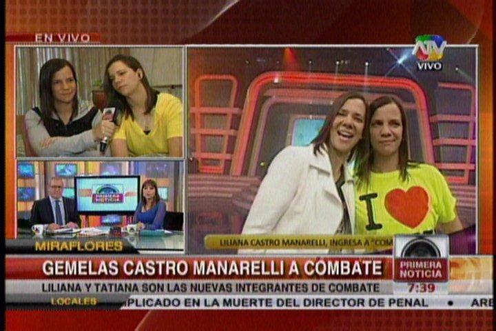 Combate: Según Liliana Castro, Eva Bracamonte apoya su ingreso al reality