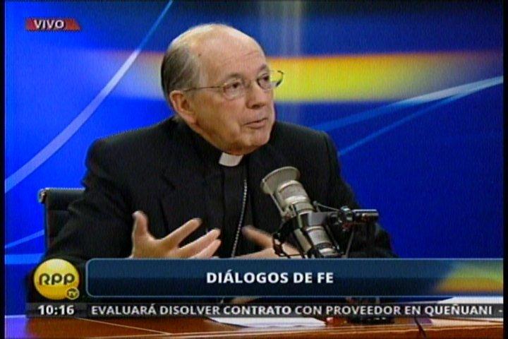 """Cardenal Cipriani sobre el WhatsApp: """"Es una tecnología para no meditar"""""""