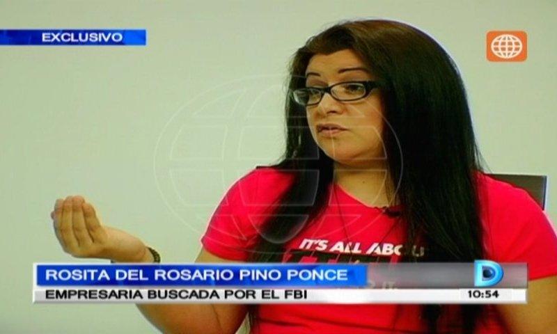 Rosita Vílchez, la peruana más buscada por el FBI, dice ser inocente